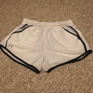 White Under Armor Shorts